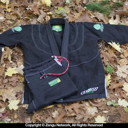Flow Kimonos Hemp BJJ Gi - Black