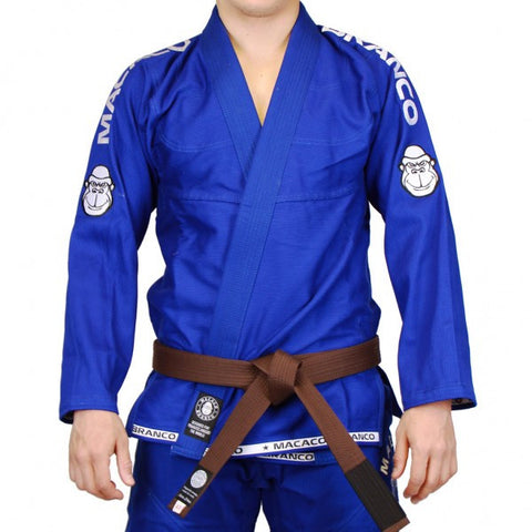 Macaco Branco Evolution Gi Blue