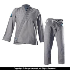 "Inverted Gear ""Light Pearl"" Grey BJJ Gi"