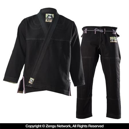 Inverted Gear Panda 2.0 BJJ Gi - Black
