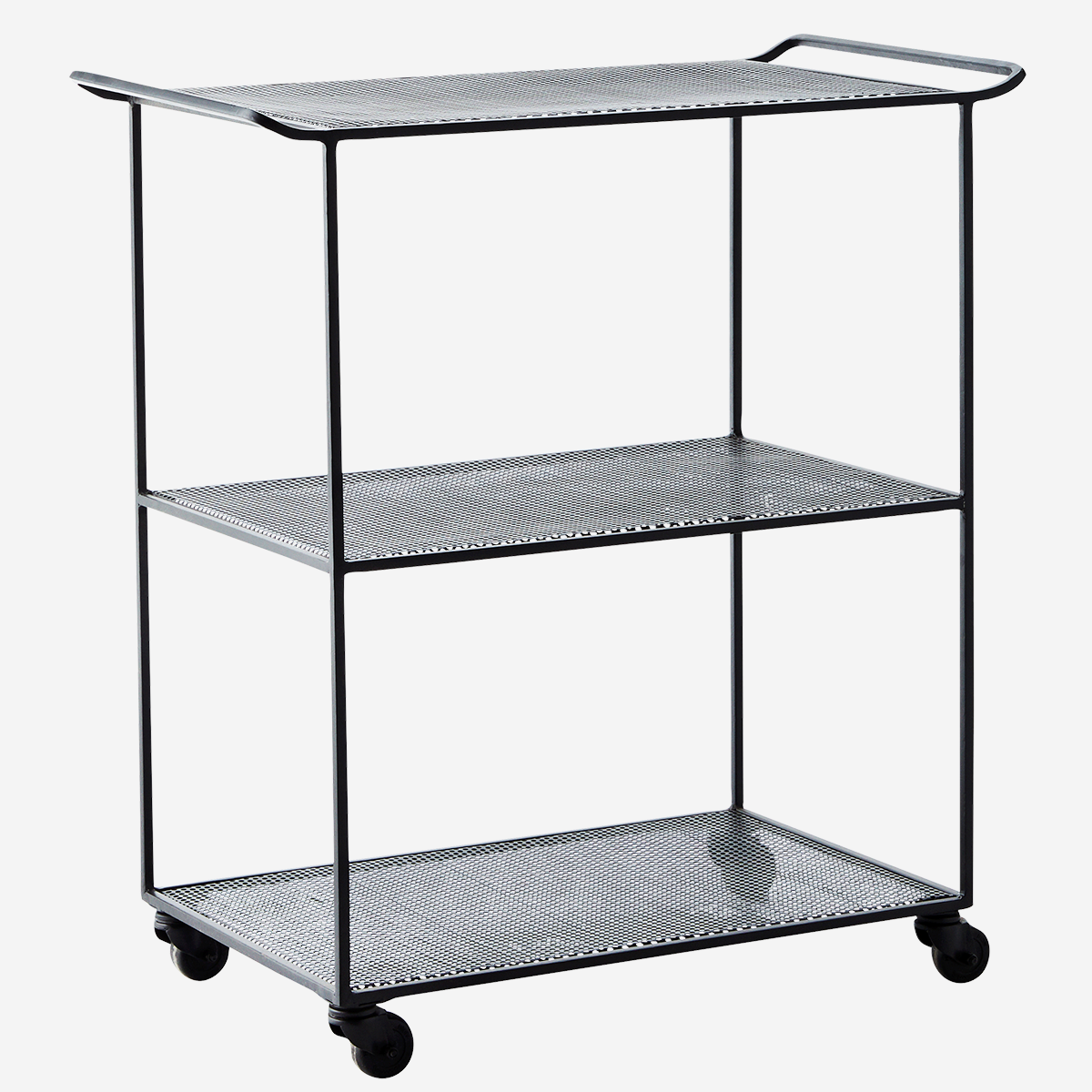 Rectangular Iron Trolley. - Madam Stoltz