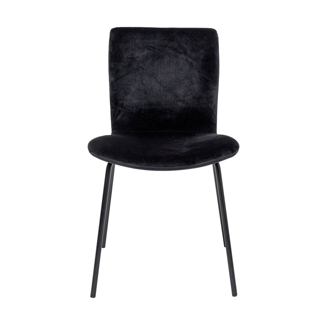 Bloom Dining Chair Black  - Bloomingville