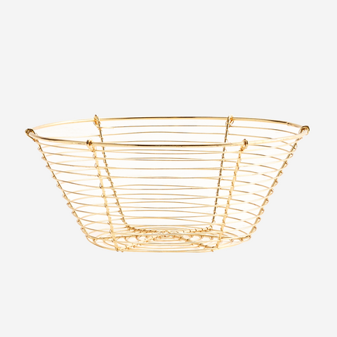 Seagrass Basket Natural/Rose