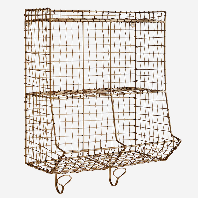 Wire Rack With Hooks. - Madam Stoltz