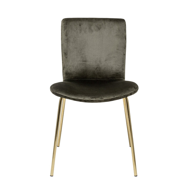 Bloom Dining Chair Green Polyester - Bloomingville
