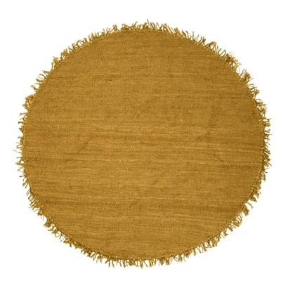 Rug Yellow Jute - Bloomingville