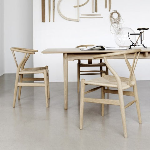 hans j wegner style wishbone chair natural s alternative furniture