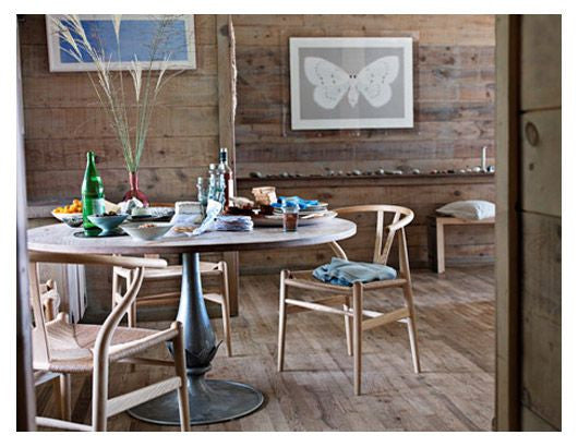 Hans J Wegner style Wishbone Chair - Natural