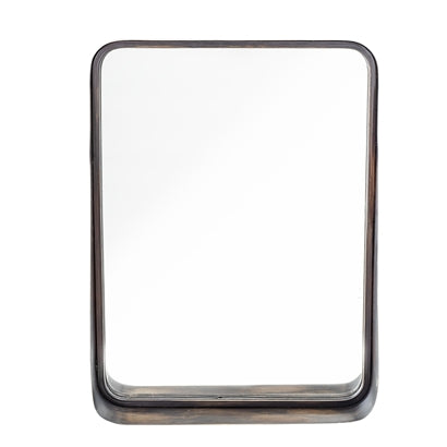 Mirror, Black, Metal - Bloomingville