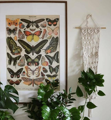 HK Living Vintage Wall Chart: XL Jungle