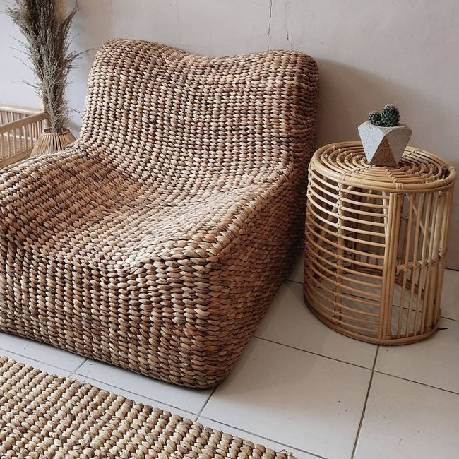 Hand Woven Banana Leaf Lazy Chair