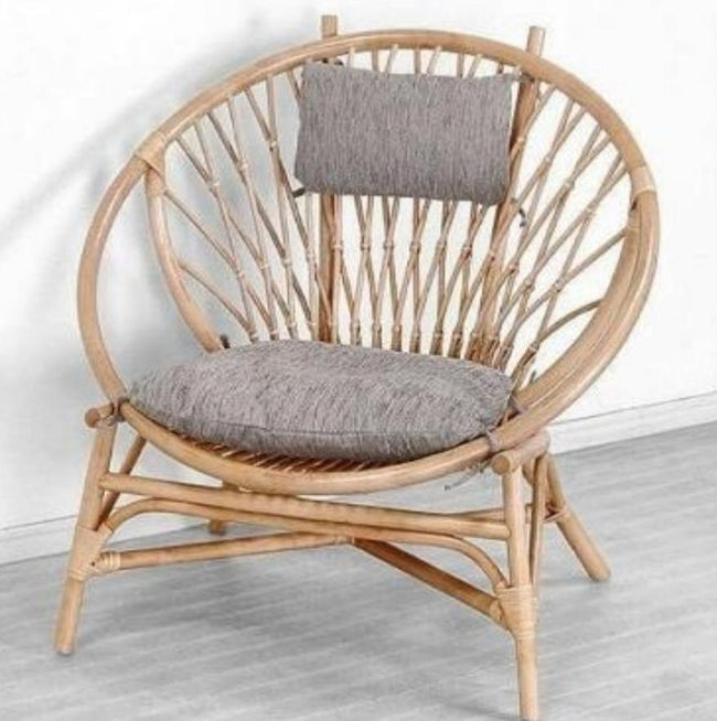 Rattan Ball Chair Natural