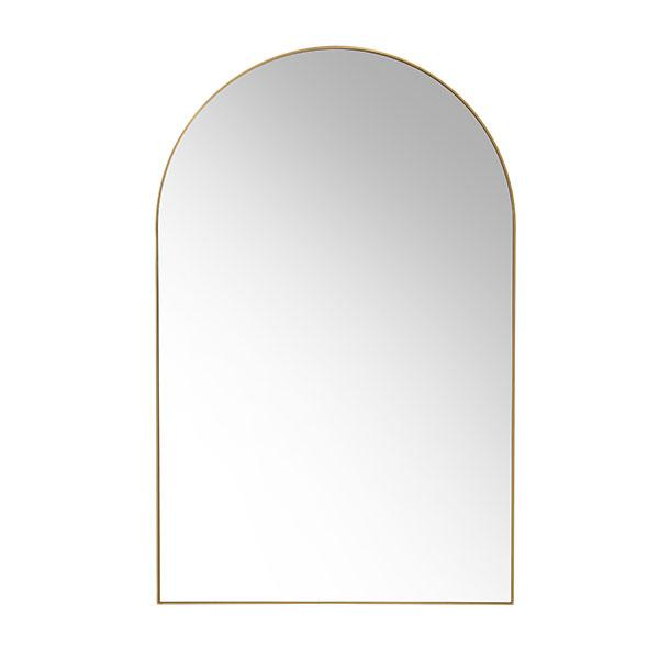 HK-Living Arch Wall Mirror Brass