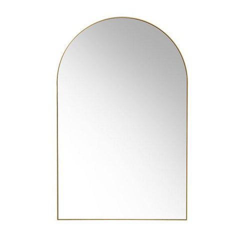 Oval Mirror With Bamboo Frame 70x60 cm - Madam Stoltz