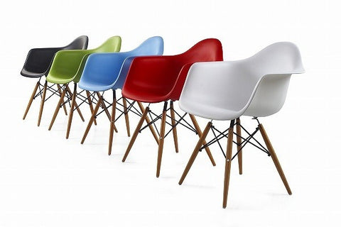 ray eames furniture. charles ray eames style daw arm chair white furniture n