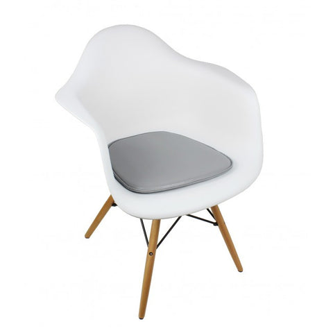 charles eames chair. CHARLES EAMES STYLE SEAT PAD FOR SIDE / ARM CHAIR - MULTICOLORS Charles Eames Chair