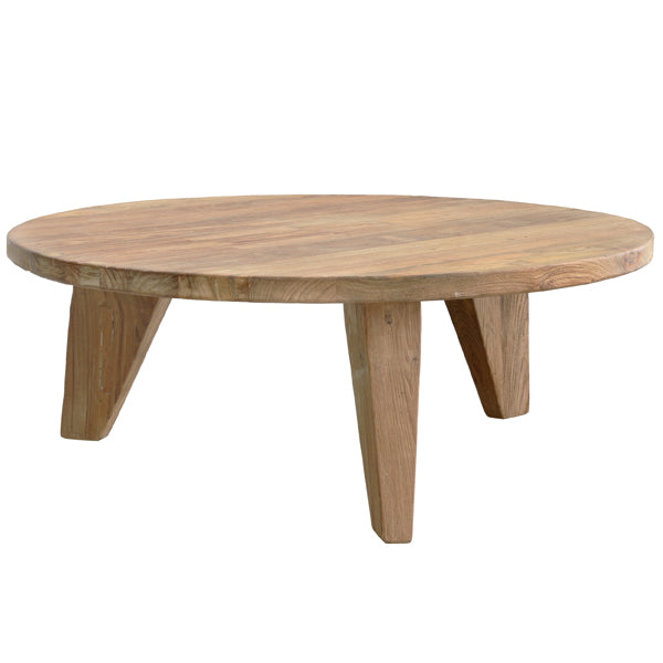 HK-Living Teak Coffee Table 80cm