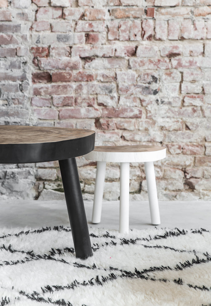 HK-Living Tree Side Table Black L