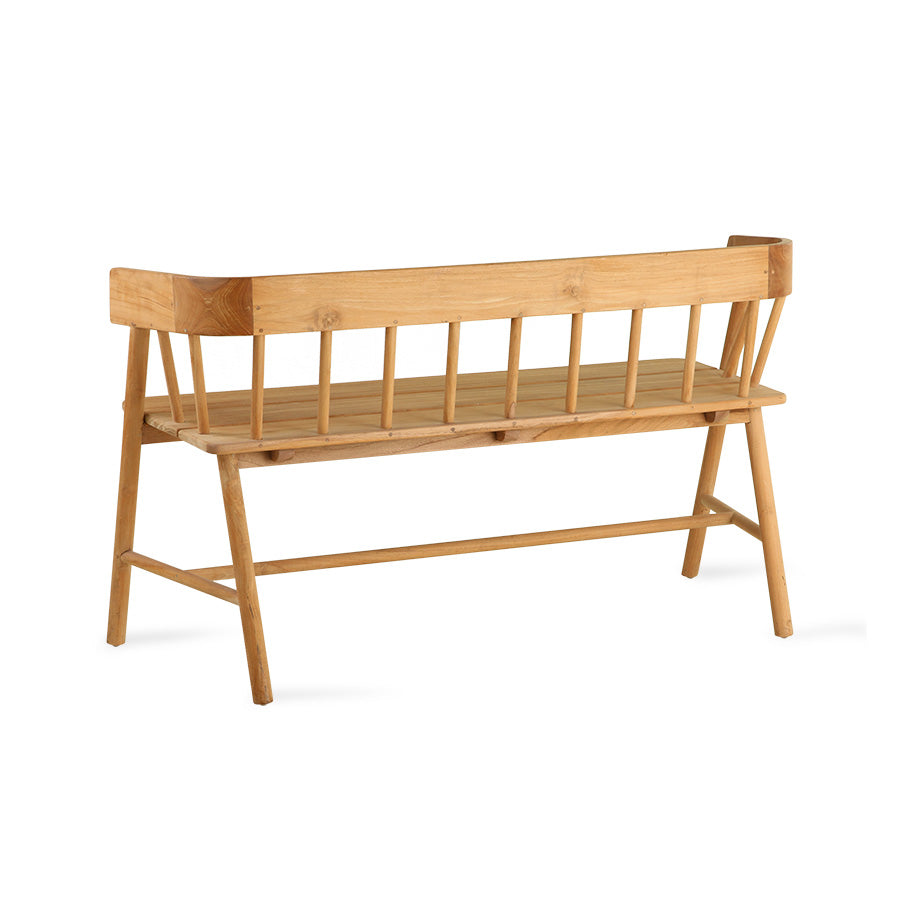 HK-Living Teak Bench Natural