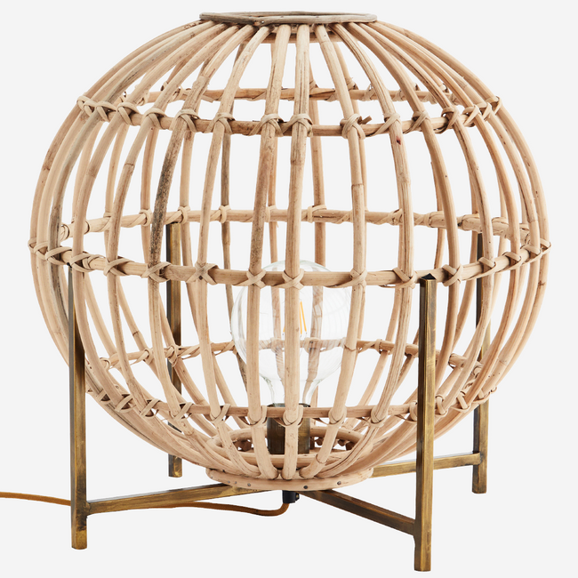 Bamboo Table Lamp Large