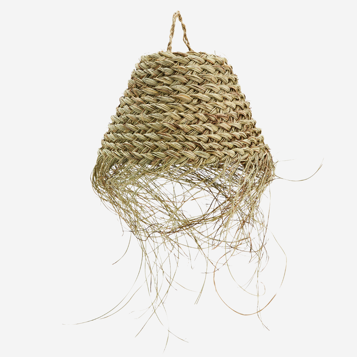 Palm Leaves Lamp Shade Hairy - Madam Stoltz