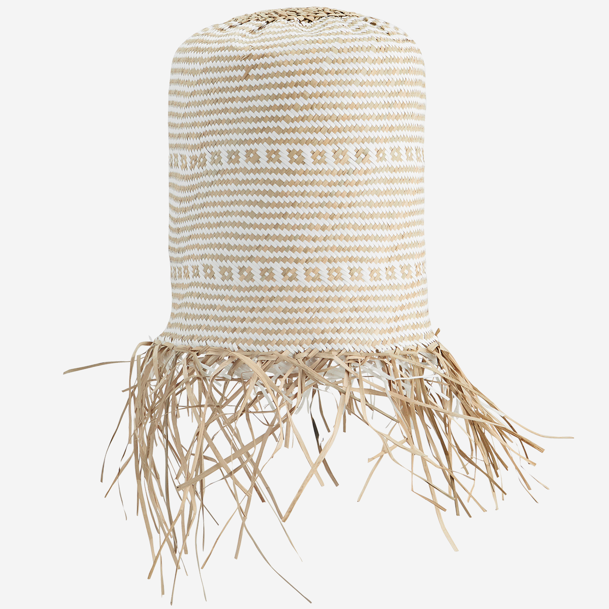 Seagrass Lamp Shade Natural, White