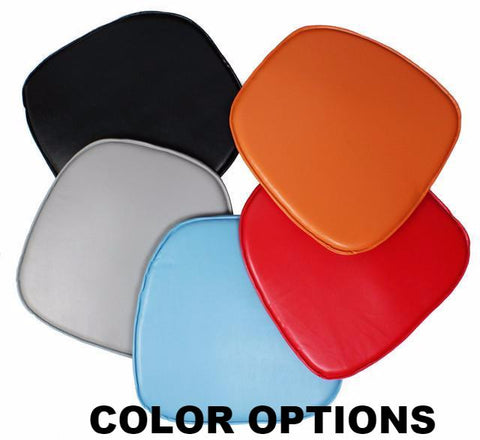 CHARLES EAMES STYLE SEAT PAD FOR SIDE / ARM CHAIR - MULTICOLORS