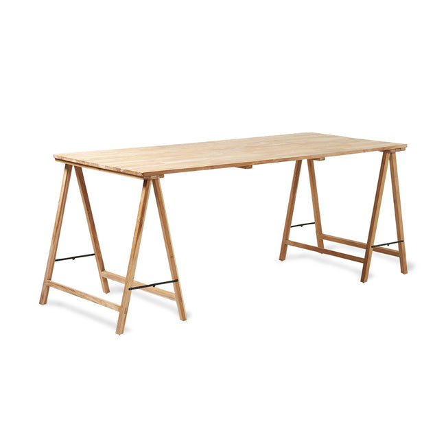 HK-Living Teak Triestle Table /Desk