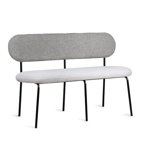 HK-living dining table bench grey