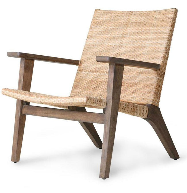 HK Living Woven Lounge Chair