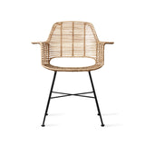 HK-Living Rattan tub chair natural