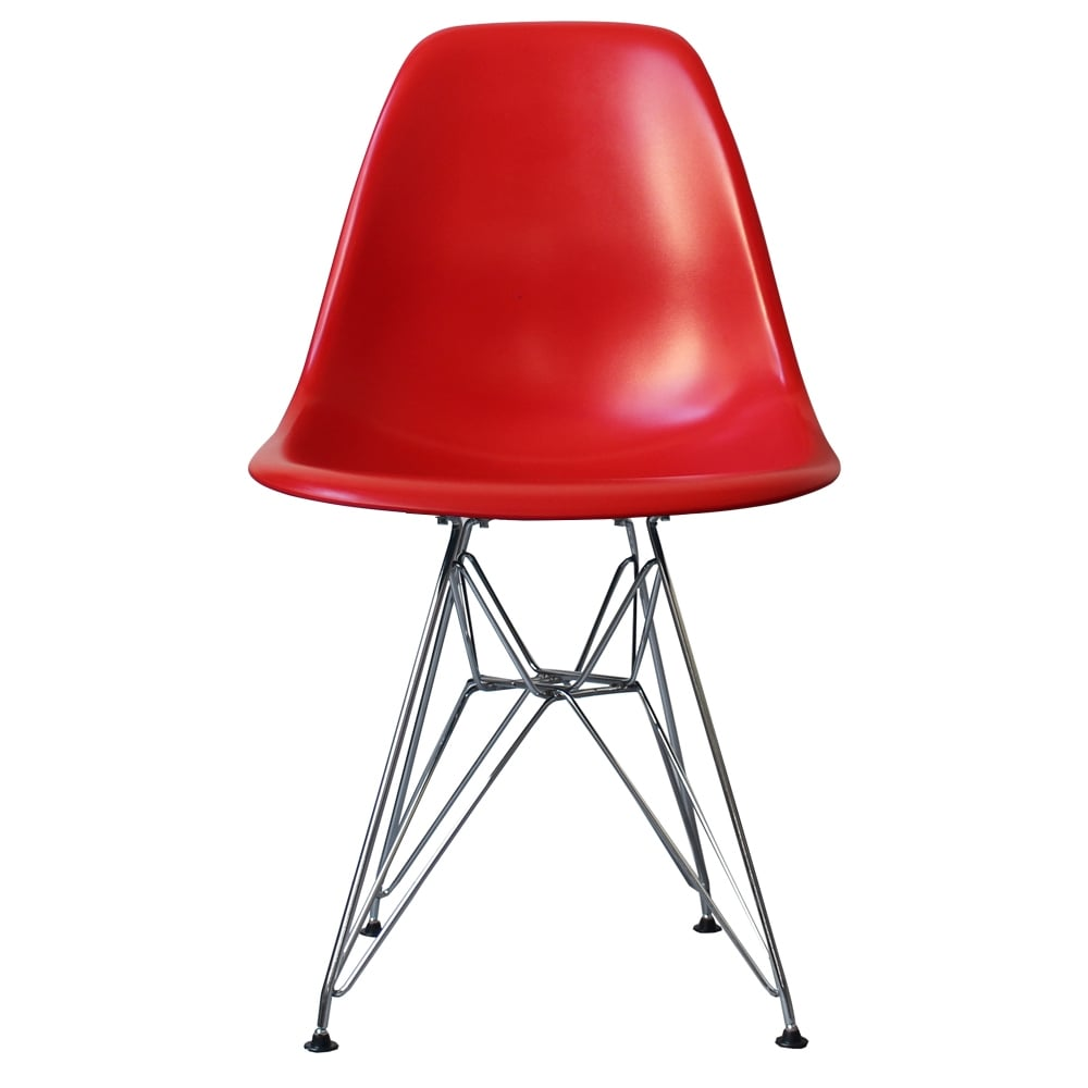 Charles Ray Eames Style DSR Side Chair - Multicolors