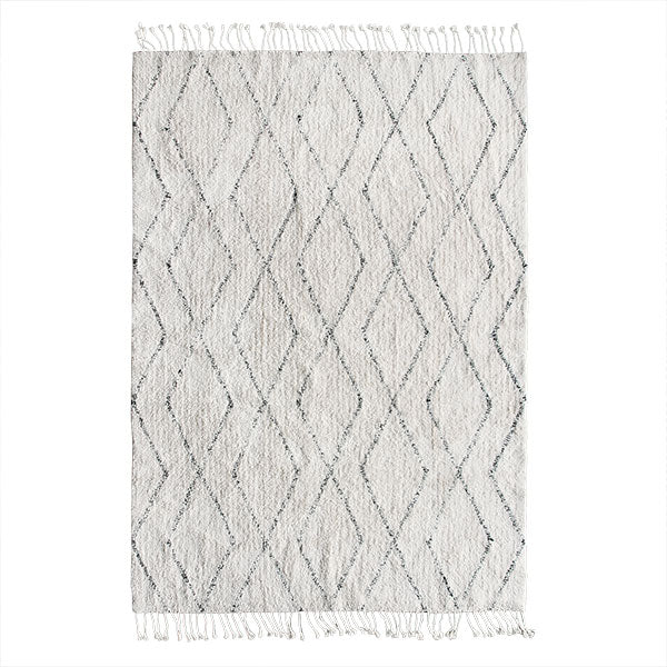 HK Living Cotton Berber Rug (140x200)