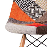 Charles Ray Eames Style DSB Bar Stool - Pachwork Ulpholstery
