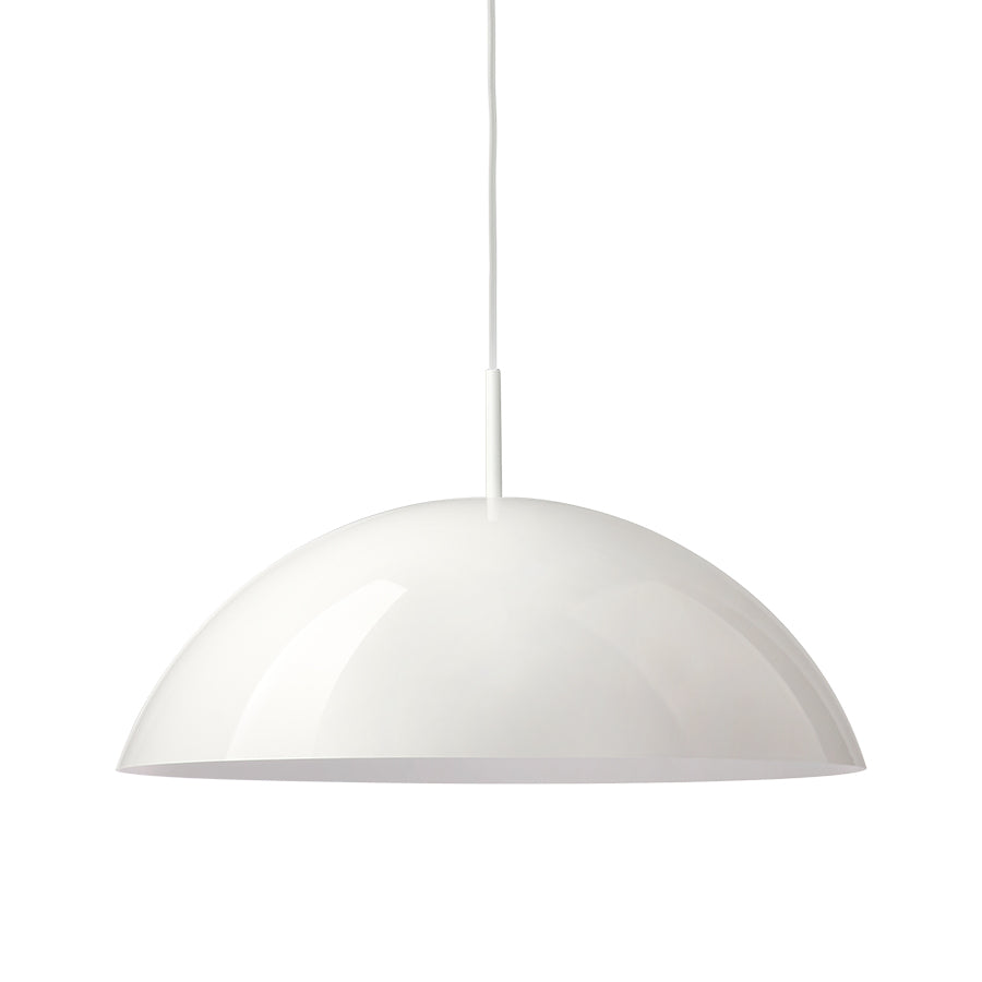 HK Living acrylic cupola hanging lamp white