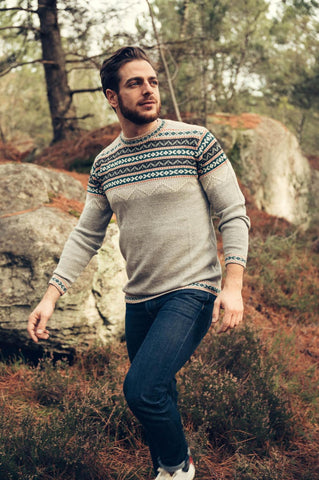 Inca Sweater - Grey - Perús