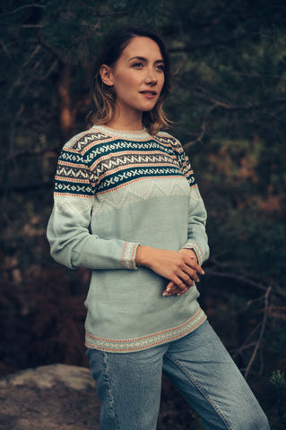 Inca Sweater - Mint