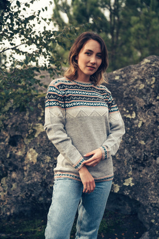 Inca Sweater - Grey