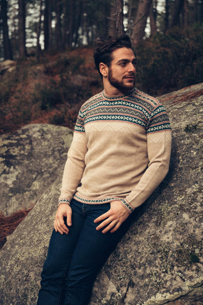 Inca Sweater - Beige