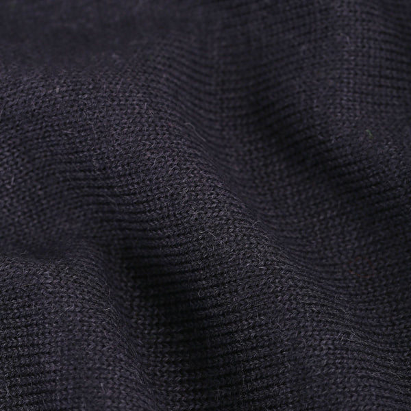 Round Neck - Navy Blue - Woman