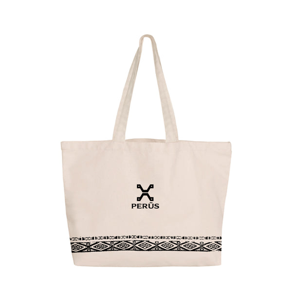 Tote Bag with Inca patterns