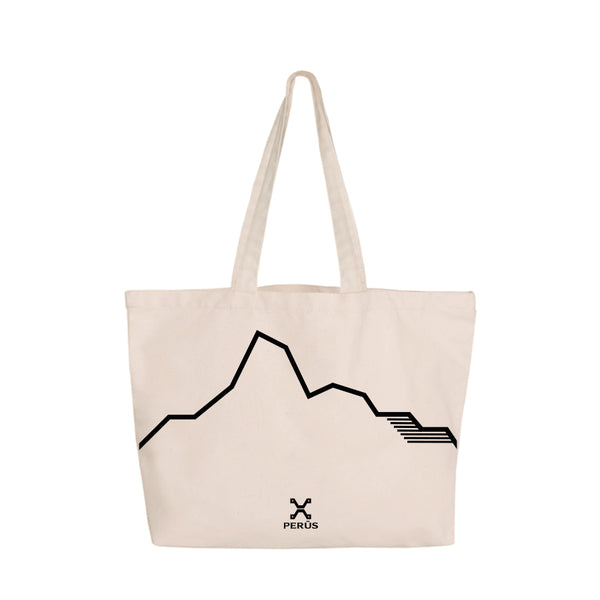 Tote Bag with landscape patterns