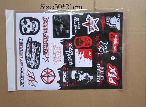 Factory FX - VINYL STICKERS