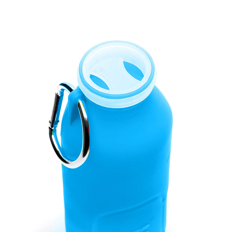 1210ef59a3 Bübi Bottle, A collapsible silicone water bottle like no other ...