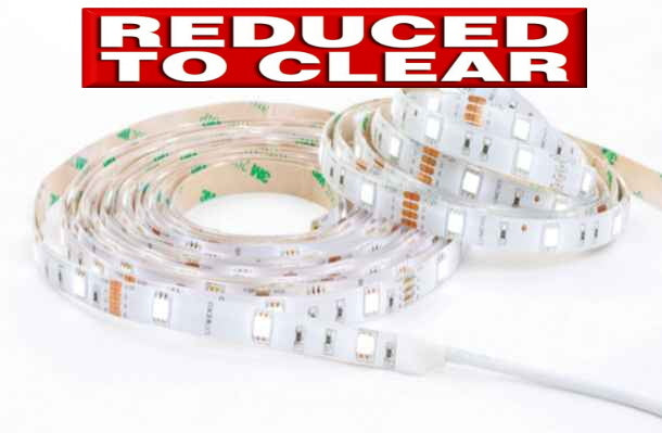 Lumeno 5m LED Flexi Strip - Yellow - Reduced to Clear