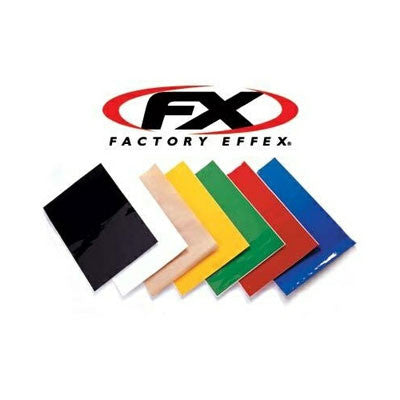 Factory Effex Universal Plate Backround Graphics 3 Pack - Green