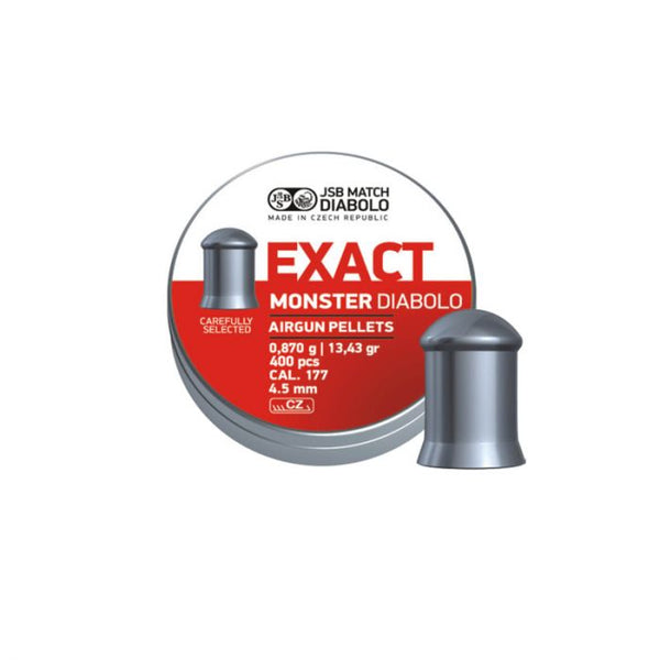 Pellets JSB Diabolo Exact Monster .177 - 13.43gr