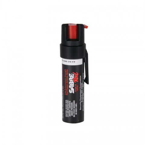 Sabre Red Compact Pepper Spray With Belt Clip