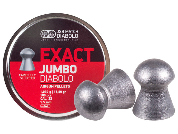 JSB Exact Jumbo Beat Pellets .22/5.5mm - 15.89gr