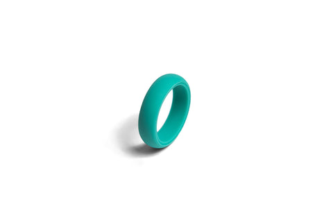 Redi Ring Ladies Turquoise Silicone Ring Size available 4-9